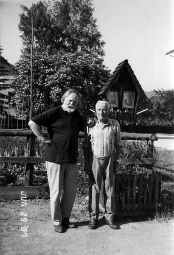 Dag Skogheim og informant som gav opplysninger om Willibald Roislechner