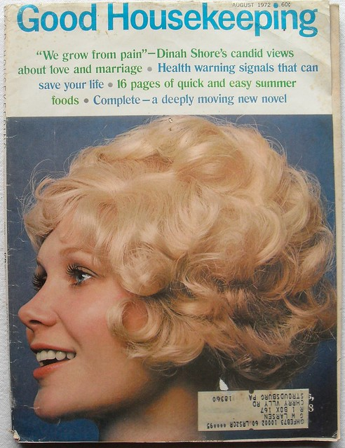 1972 GOOD HOUSEKEEPING Vintage Magazine