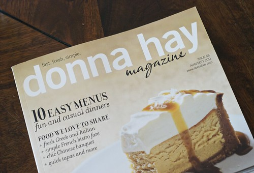 Donna Hay Magazine - Aug/Sept 2011 | by {every}nothing wonderful