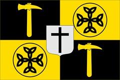 Banner of the Carolingians with a Carolingian Cross