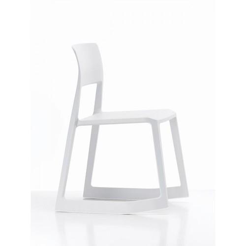 la chaise a bascule tip ton blanche vitra la chaise a. Black Bedroom Furniture Sets. Home Design Ideas