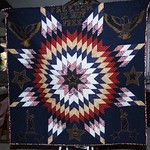 046Quilt of honor -Pieced by Patti Chandler- quilted by Gail Belmont
