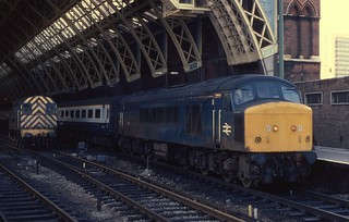 13.03.82 London St Pancras   08902 & 45136