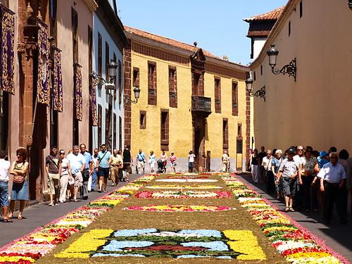 Corpus Christi Flower Carpets, Tenerife 2011