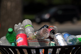 Bottles and Cans in the Garbage | by Mr.TinDC