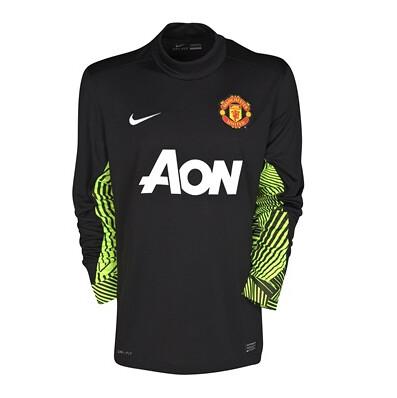 reputable site e350e 8efe0 David de Gea - Manchester United Home Goalkeeper Shirt 201 ...