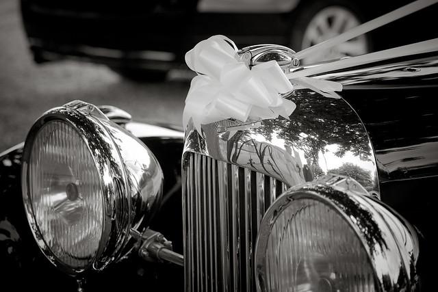 Lagonda wedding car.