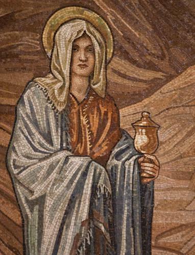 St Mary Magdalene mosaic