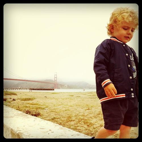 Golden Gate Boy   by Sagolla