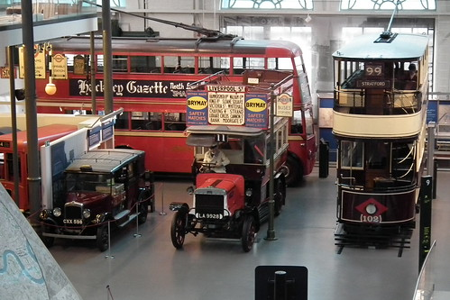 London Transport Museum vehicles | by sv1ambo
