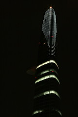 Bitexco financial tower by night