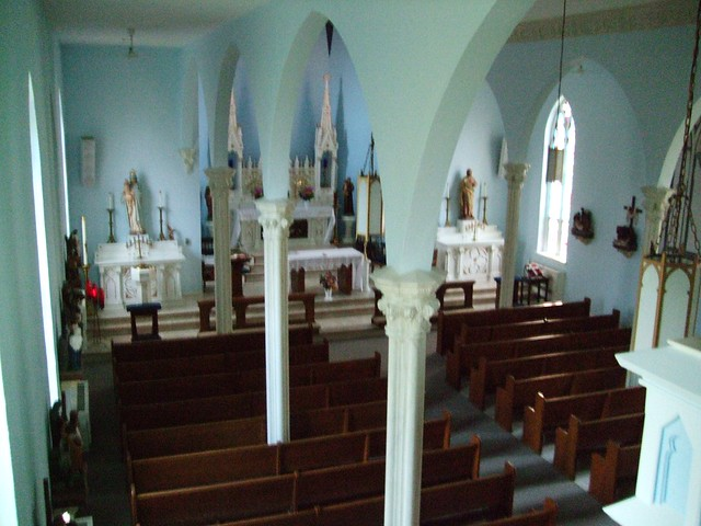 St. Mary of the Woods Catholic Church, Princeville, IL Remodeled