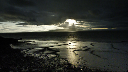 light sunset sea lake seascape storm beach nature wet water rain clouds dark lens scotland north lakedistrict cumbria through stormclouds thelakes solway silloth the northengland angelrays solwayfirth naturethroughthelens