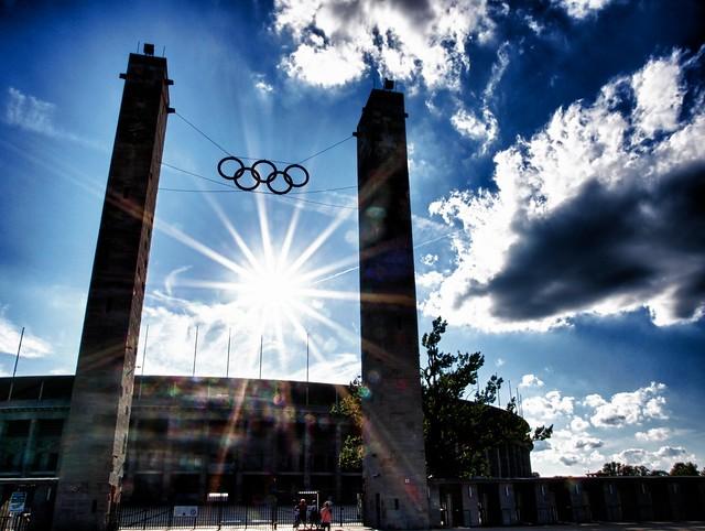 The Berlin Olympic Stadium