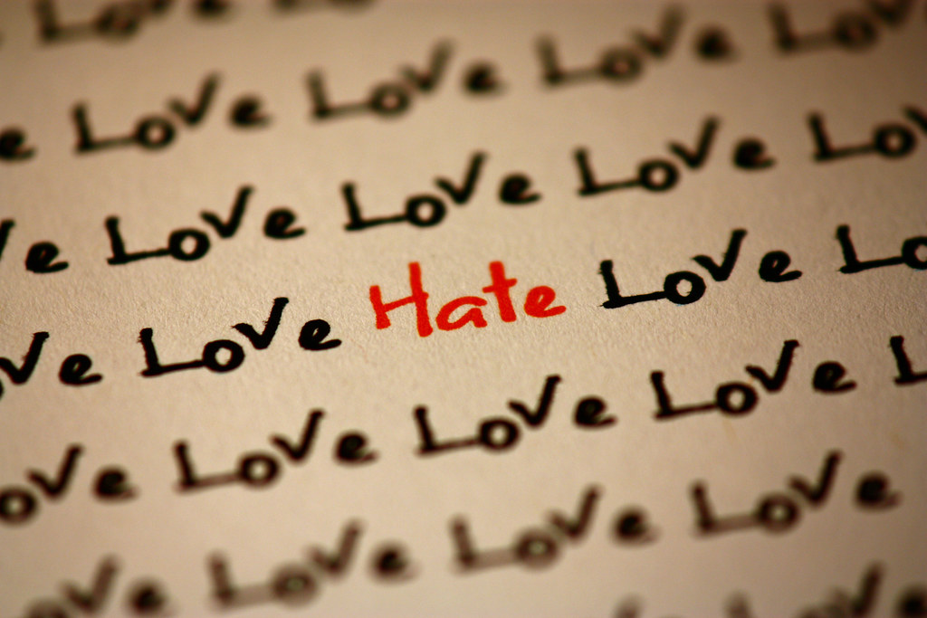 Love and Hate | Love and hate - 2 very strong feelings that … | Flickr