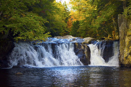 autumn fall river waterfall vermont falls worcester