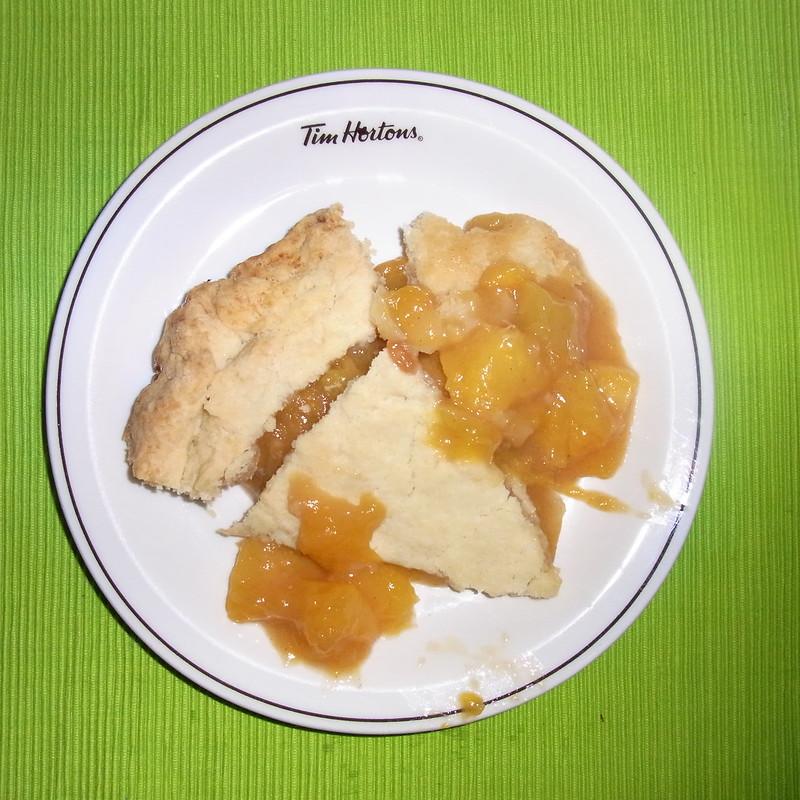 #301 A slice of Georgia peach pie