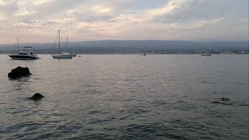 Sunset at St Cyr sur Mer