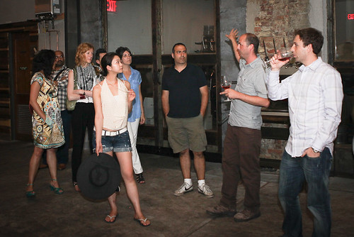 Speak Easy tour of Brooklyn Winery | by Speak Easy Series
