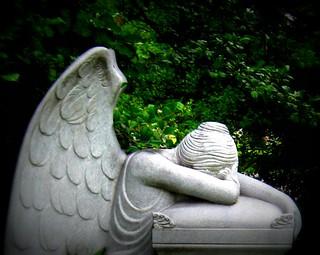 Angel of Grief / Weeping Angel | by elycefeliz