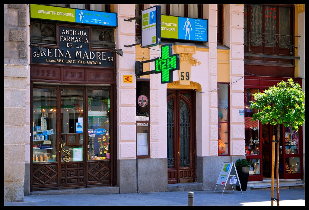 Antigua Farmacia De La Reina Madre Calle Mayor 59 Madrid Flickr