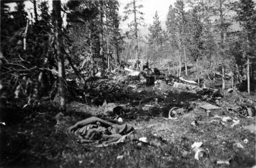 Engelske etterlatenskaper etter kampene ved Stien 17. mai 1940