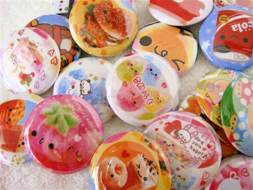 Kawaii Pinback Buttons! | YAY! I bought a Tecre button maker