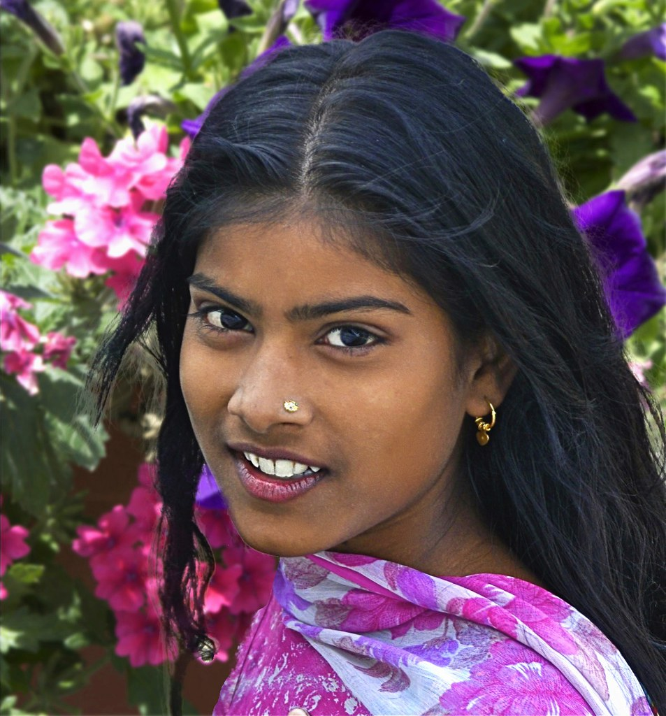 Pretty Indian girl | I photographed this young girl in