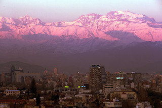 Andes Sunset above Santiago, Chile   by MisterMalbec