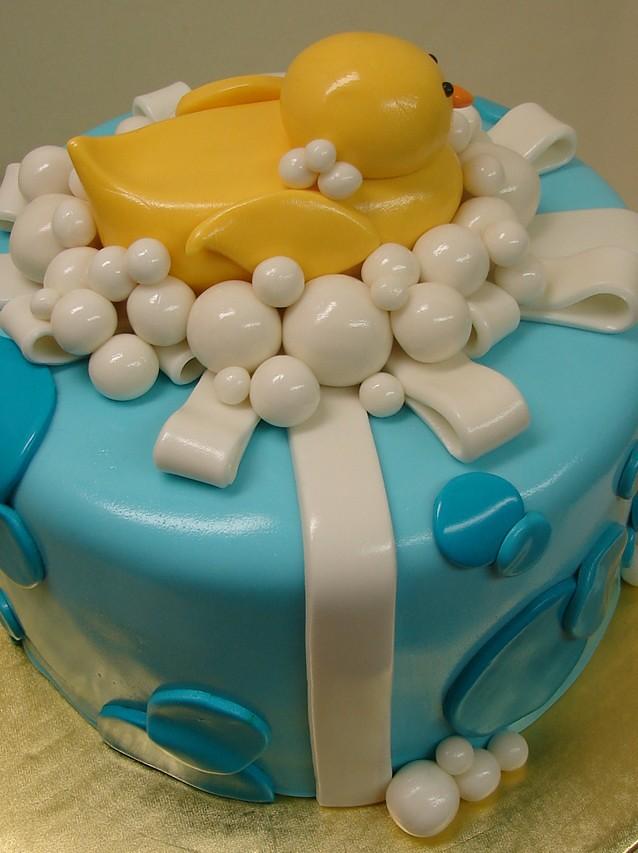 Awe Inspiring Rubber Ducky First Birthday Cake Rubber Ducky First Birthd Flickr Funny Birthday Cards Online Inifofree Goldxyz