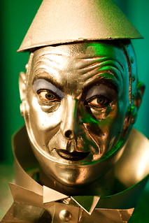 Don't Give Me That Look Tin Man | by Thomas Hawk