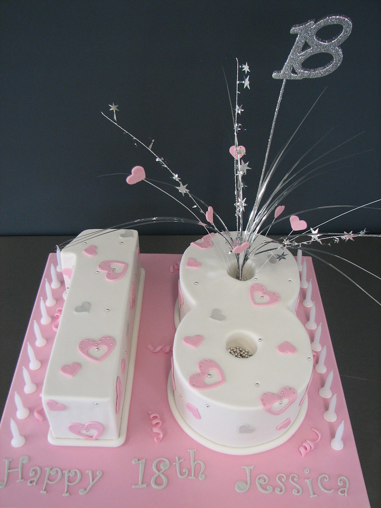 Wondrous Number 18 Birthday Cake Kylie Ballard Flickr Funny Birthday Cards Online Elaedamsfinfo