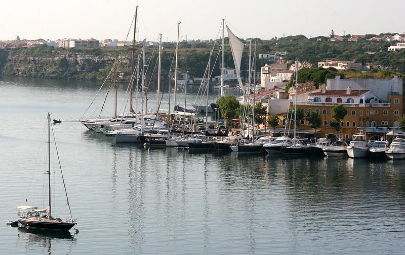 Moll de Llevant, Port of Mahon. Menorca / Minorca