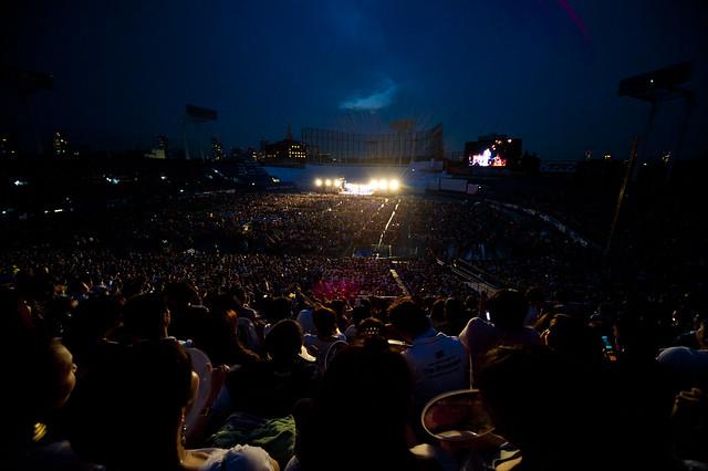 Jingu Fireworks 2011