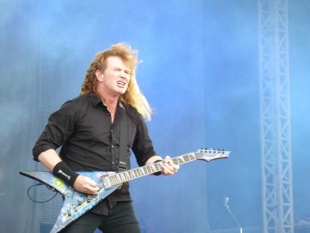 Megadeth Sonisphere 2011 Dave Mustaine Knebworth