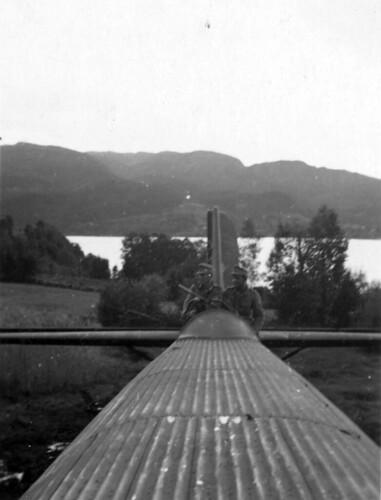 Fly nødlandet på Hemnesberget 1940