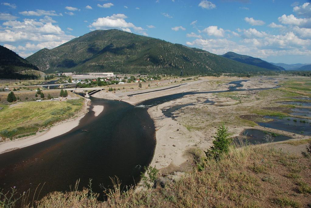 Milltown Dam site