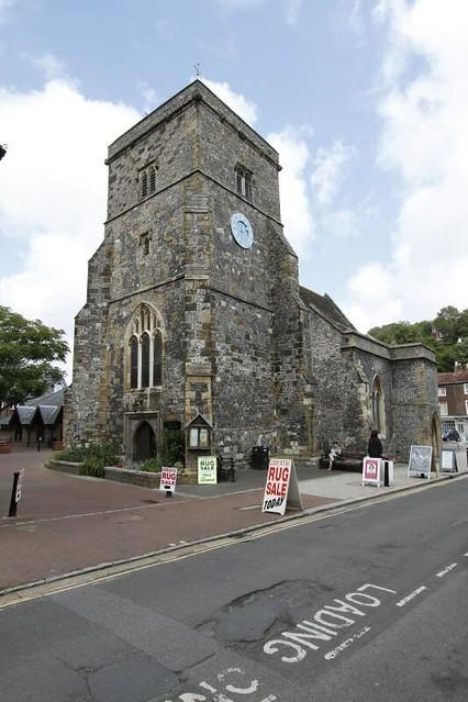 Parish Church of St. Thomas a Becket, at Cliffe, Lewes