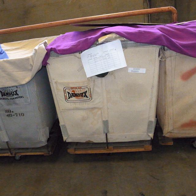 Dandux bins at Columbiaknit