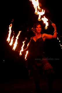 Pyrosutra  aka Fire Dancing