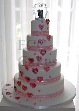 Piece Montee Gateau De Mariage Wedding Cake You And Me