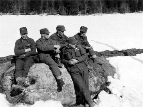 Kapitulerte norske soldater i 1940