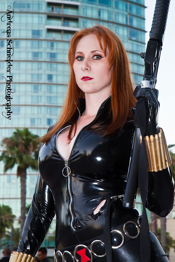 Marvel S Black Widow In The Big City Of San Diego At Comic Flickr