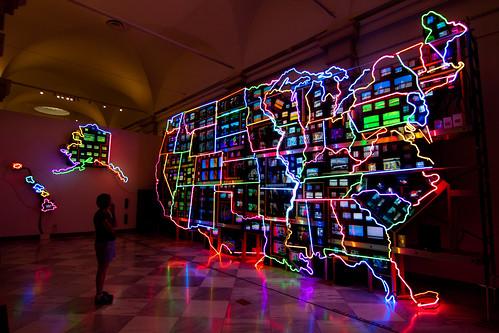 Neon America   by theqspeaks