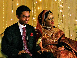 Bangladeshi Bride and Groom