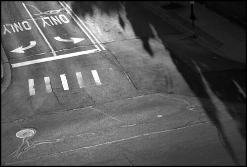 street bw michigan august jackson direction arrows intersection crosswalk 2011 nikond200 dsc6454 9august2011 southfrancisstreet eastcortlandstreet nikkor180550mmf3556dx photostrollwithjamelah
