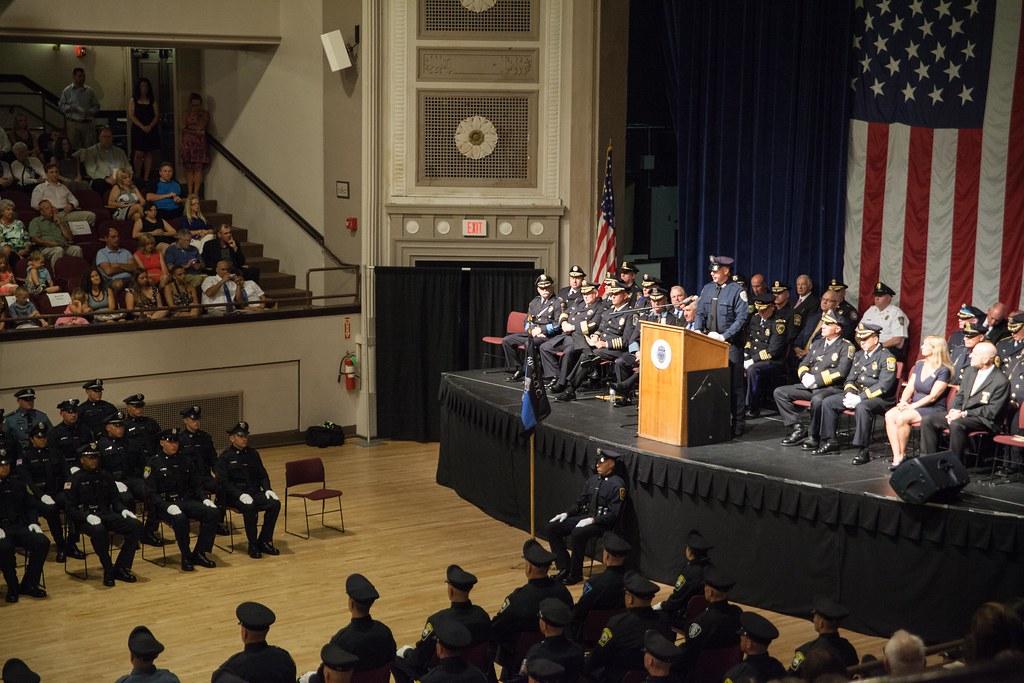 Massachusetts National Guardsmen Graduate Plymouth Police