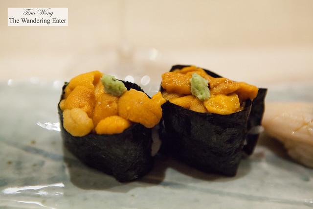 Hokkaido uni sushi