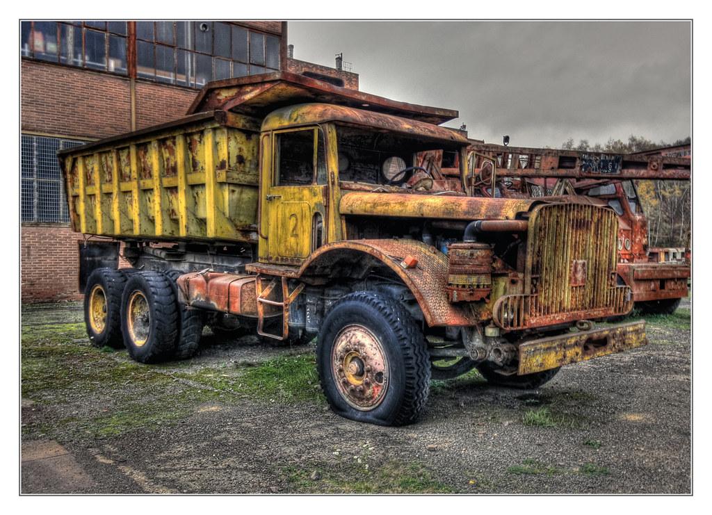 Petite-Rosselle F - Musée Les Mineurs Wendel - Mining Truck