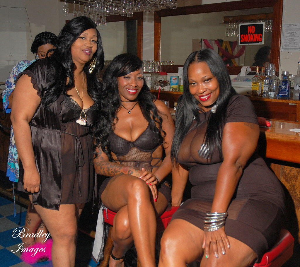 Ebony black girls party